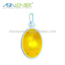 Promotion kundengebundenes Firmenzeichen geführtes grelles Taschenlampe keychain