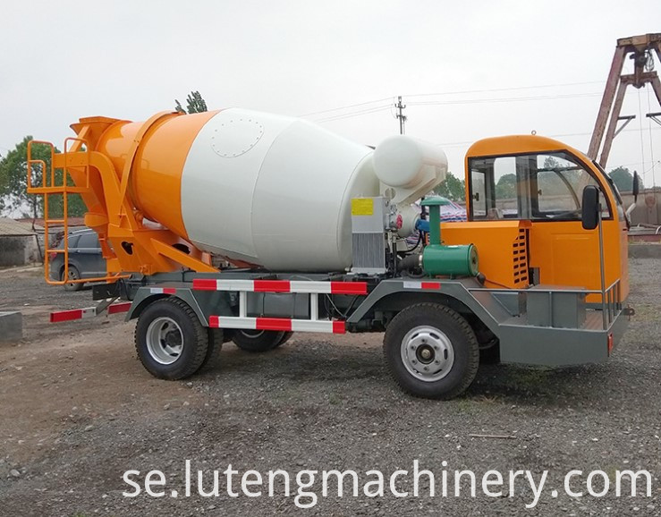 Construction Machinery Concrete Mixer