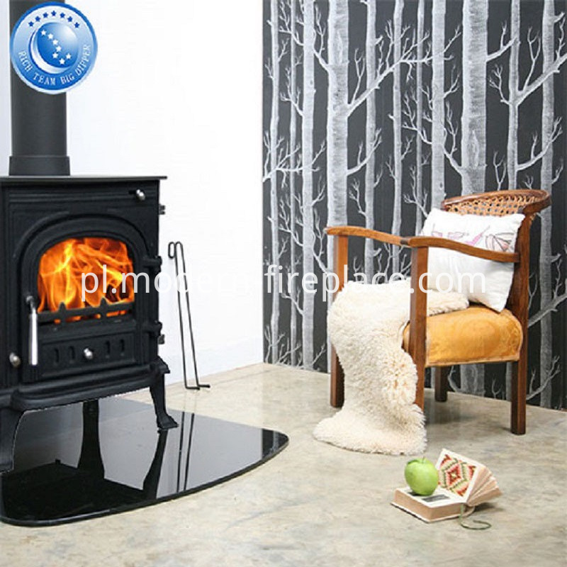 Efficient Cast Iron Wood Stoves Installation