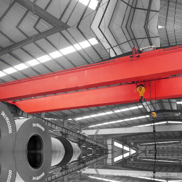 Electric Double Girder Heavy Equipment Crane For Factory
