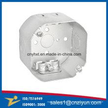 Cajas de terminales de aluminio con octágono soldado