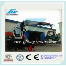 Hydraulic Telescopic Truck Mounted Cranes of Big Lifting