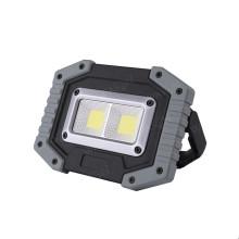 Lampe de travail étanche à lumière d'inondation COB portable