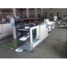 Многослойная непрерывная машина для сгибания бумаги