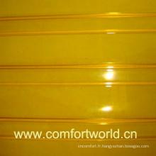 PVC porte Rideau jaune