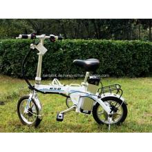 Tragbare doppelt falten Fahrräder