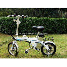 Portable Double pliage bicyclettes