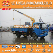 DONGFENG 4x2 3.2 tons straight arm truck mounted crane