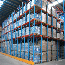 Warehouse Storage Single and Double Table Angle Drive in Rack