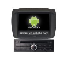 8 pouces Android 4.4 lecteur dvd de voiture GPS pour Mitsubishi L200 niveau bas avec gps voiture miroir-lien
