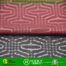Tricotar fio tingido Polyesterspandex tecido para jaqueta Casual