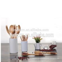 Venta caliente personalizada linda heladería mini cuchara de madera