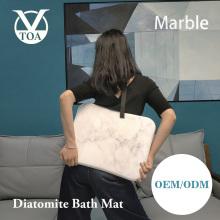 Heißer verkauf neue produkt marmor diatomite badematte