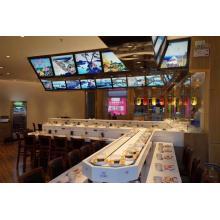 Hermosa tecnología Rotary Sushi Conveyor Belt