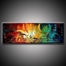 100% Handmade Modern Abstract Oil Paintings for Home Decoration (KLA1-0029)