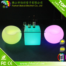 Fábrica Hotsale LED Cocktail Móveis Conjuntos