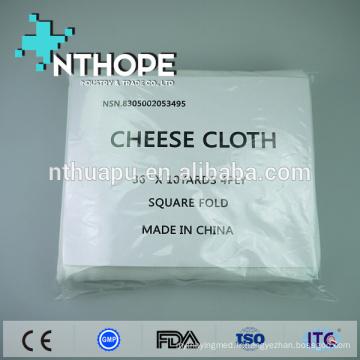 cheesecloth en coton biologique jetable