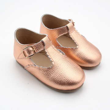 T Bar Baby Shoes Rubber Sole Kinder schoenen
