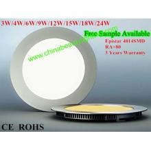 3 anos de garantia LED Light luz do painel de LED