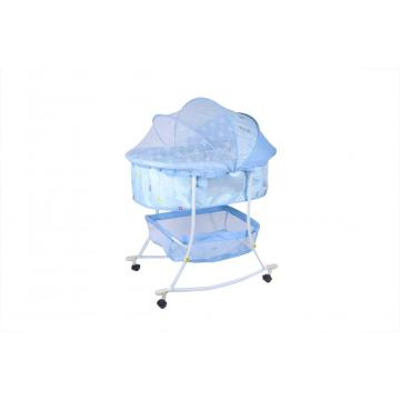 Baby Bassinet with Wheels and Rocking Function
