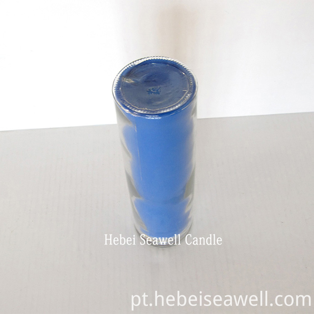 the bottom of Glass Jar Candle