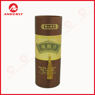 Factory Supplier for for Tea Packaging,Coffee Packaging,Tea Packaging Tube Manufacturers and Suppliers in China Customized Gold Foil Tea Packaging Paper Canister export to Netherlands Importers
