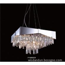 Chrome Clear Crystal Pendant Lamp & Lighting