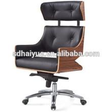2017 popular silla giratoria de Gran Jefe de lujo al por mayor muebles de oficina ajustable