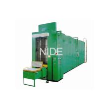 Автоматическая прокатная машина для пропитки латуком статора