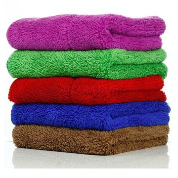 Fornecedor de pano de toalha da limpeza do prato da cozinha de Microfibre