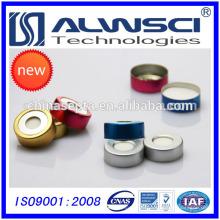 20mm Открытый Топ биметаллические Обжимные крышки для GC Хроматографический ампул