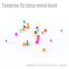 Cuentas redondas de tungsteno para atar moscas