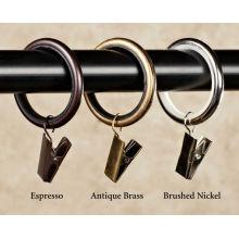 2-дюймовые клипсы с застежкой-молнией из драпировочного кольца с нейлоновыми вставками