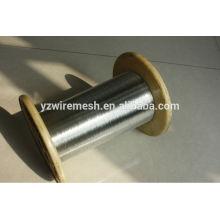 Arame galvanizado de 0,5 mm para o mercado da Coréia do Sul