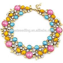 Grace colar jóias mais recente atacado de alta qualidade declaração diamante colar
