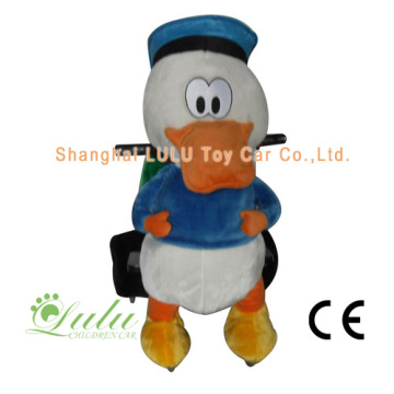 Leading for Kids Animal Rider Duck Animal Rider Coin Operated Machine export to France Factory