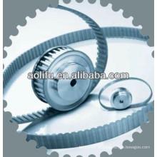 Polias de alumínio para máquinas industriais