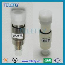 Atenuador óptico de fibra FC / PC