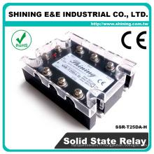 SSR-T25DA-H CE DC AC CE Relais 110VAC Relais à semi-conducteurs SSR 3 phases