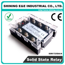 SSR-T25DA-H CE DC AC CE Relay 110VAC Solid State Relay SSR 3-Phase