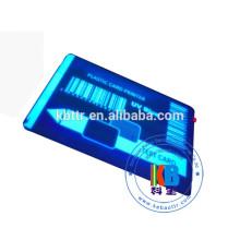 Fita UV azul transparente clara material da impressora da resina para a impressão de etiqueta plástica do PVC do holograma