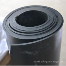 Hoja de piso de caucho Nitrilo Plain NBR en rollos