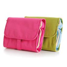 Bolso cosmético del bolso del viaje de nylon de alta calidad que cuelga