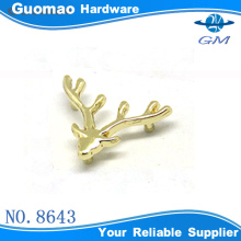 christmas metal milu deer decorative accessories for bag/clothes/hat