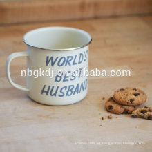 Varios tipos2015 la última taza de café caliente del esmalte de la venta