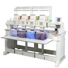 4 head Computer Embroidery Machine for cap t-shirt embroidery price
