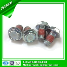 Nylon Patched Hex Flange Head Bolt