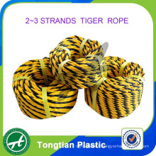 Chine usine 2 brins 3 brins polyéthylène Tiger Rope