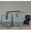 Electric piston actuator for automatic nursing bed