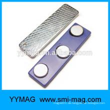 Kundenspezifische magnetische Kleidung Name Abzeichenhalter